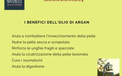 I benefici dell'olio di argan