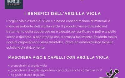 I benefici dell'argilla viola